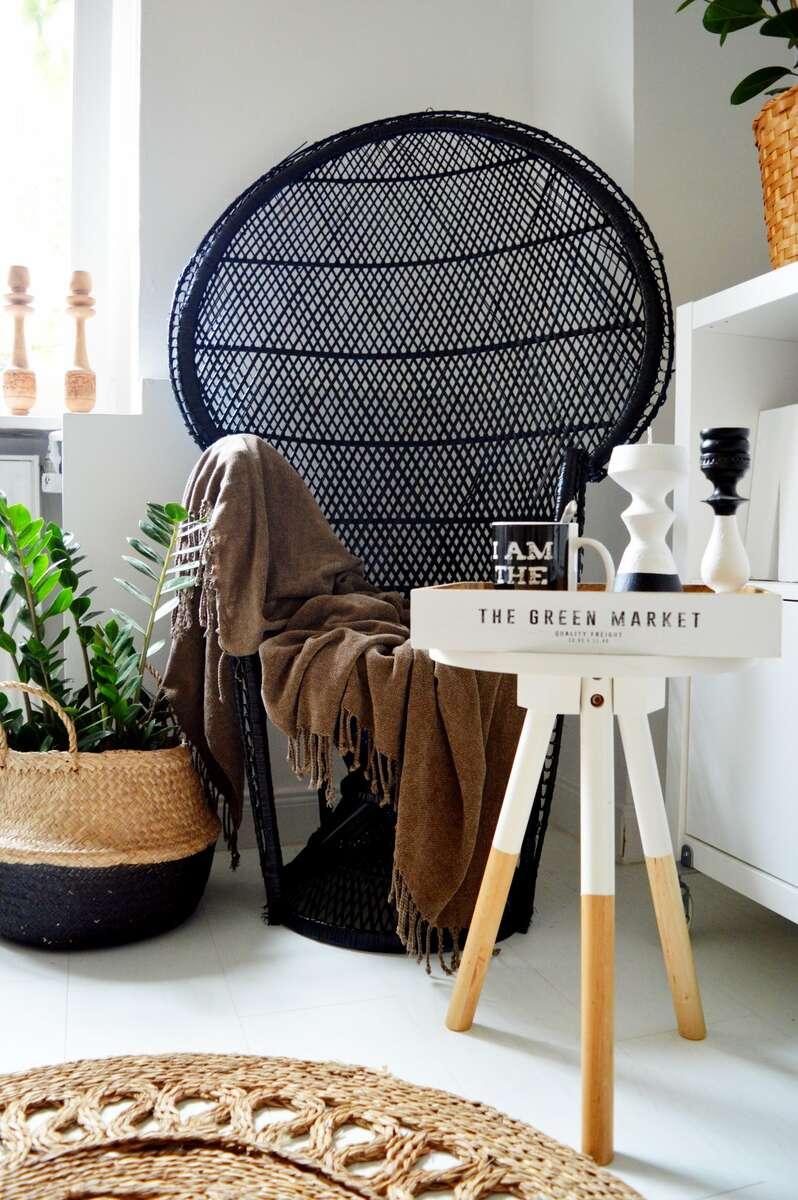 Páva (Emanuelle) szék tündöklése Merci Ancsa dekor