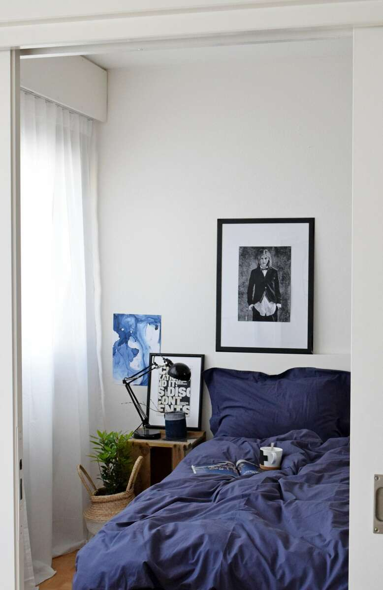 #bedroom #decor #indigo